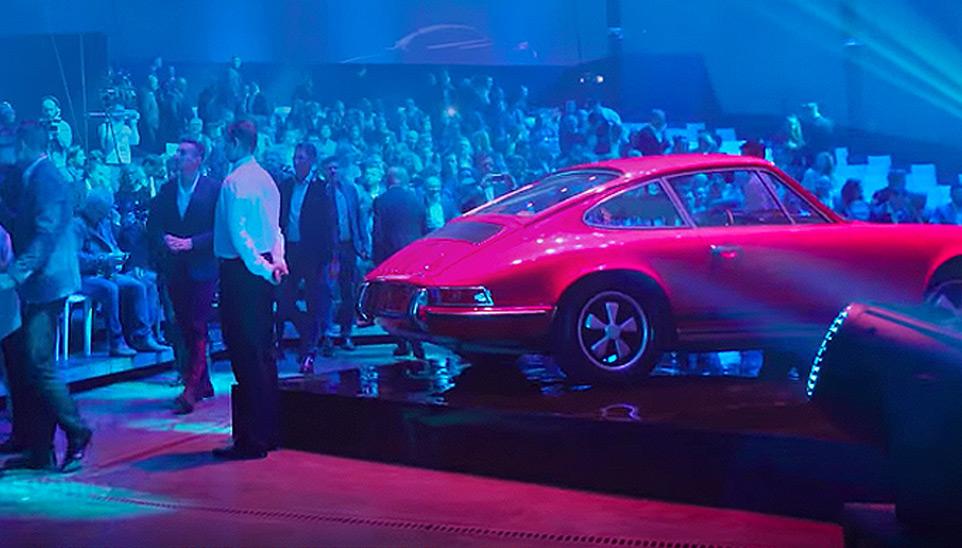 Premiere of the Porsche 911