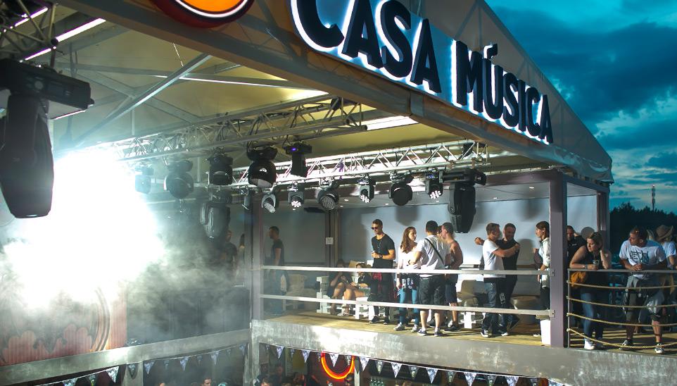 Bacardi  Casa Musica