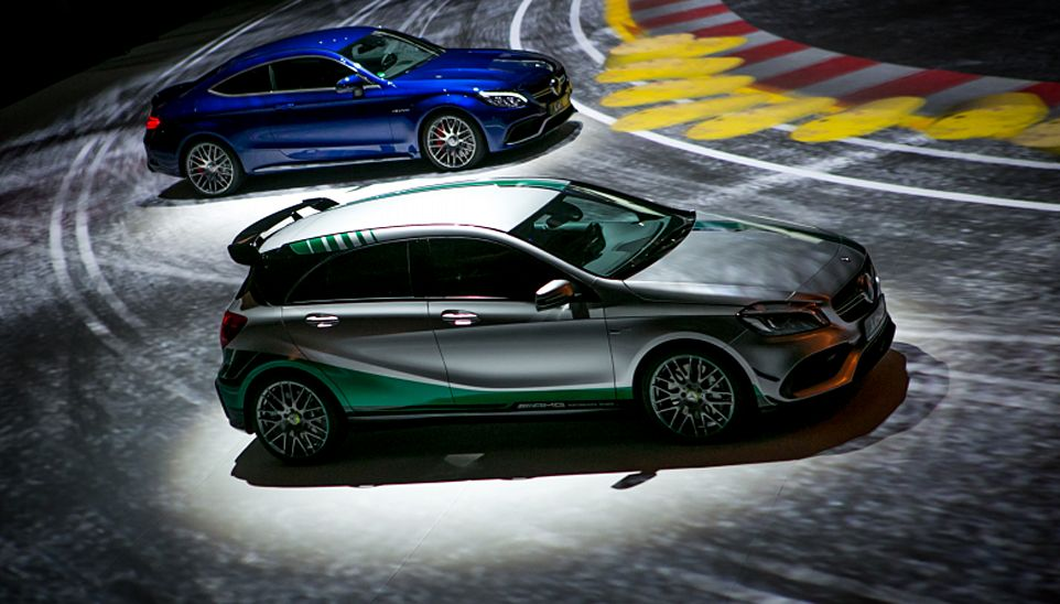Grand Prix 2.0 16. The meeting of Mercedes-Benz cars dealers