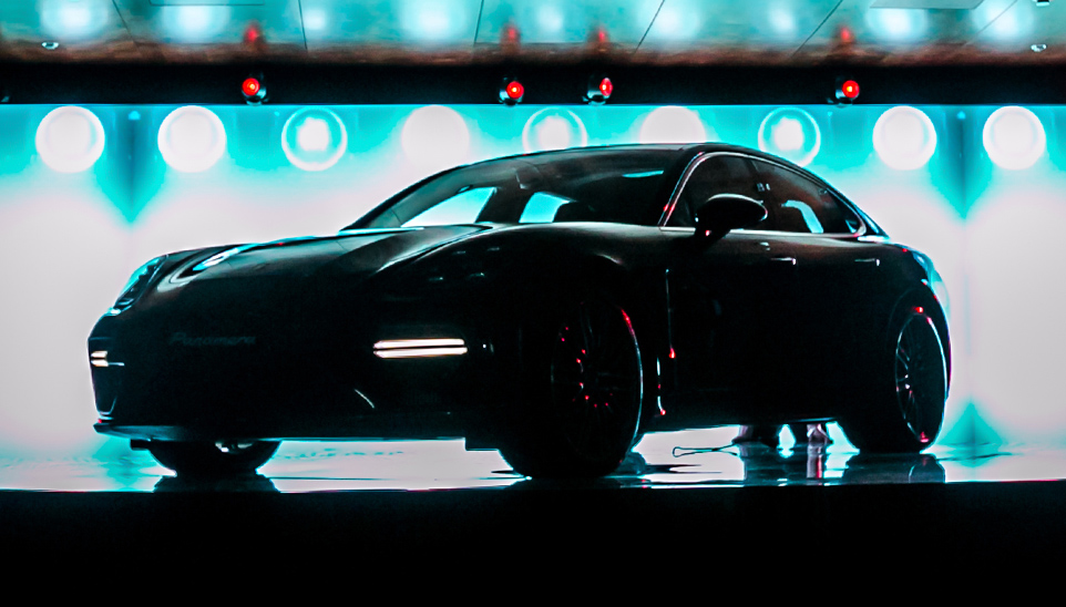 Premiere of Porsche Panamera 2016